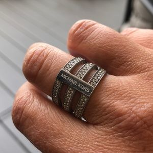 Michelle Kors Silver Ring 7